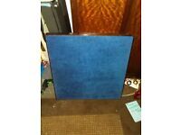Rare Vintage Felt Mahongany Foldaway Poker Table Made By VONO Pat #357783