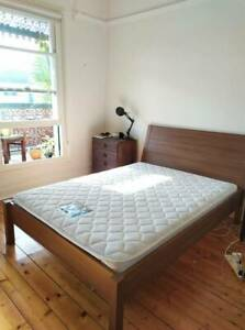 Double IKEA bed frame and mattress amazing condition