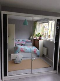 ☀ CASH ON DELIVERY ☀SLIDING MIRRORED WARDROBE WITH DISCOUNTED OFFER