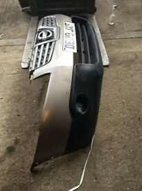 Nissan qashqai bumpers in used condition paint code c30 Cafe latte year 2009.