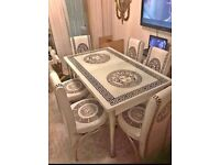 BRAND NEW DINING TABLE WITH CHAIRS AVAILABLE | COD Available