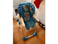 Chicco polly highchair.