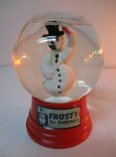 Vintage Frosty The Snowman Snow Dome