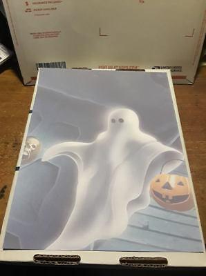 Halloween Computer Paper (25 Sheets Computer Stationary   Halloween Ghost  8-1/2 x)