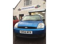 Reg. 10/03/2004 FORD FIESTA FINESSE 1.2L PETROL,IMMACULATECAR,53K MILES,2 LADY OWNERS FROM NEW