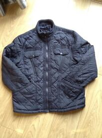 Men's coat Navy size XL