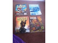 Warhammer White dwarf bundle of books bundle