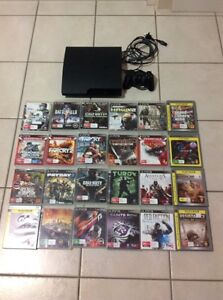 PS3 console with games Secret Harbour Rockingham Area Preview