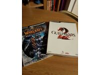Guildwars 2 & World of Warcraft Bradygames Strategy Guides