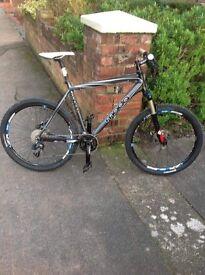 "Moda Top Spec Mountain Bike Hardly Used ! 21"" Large Frame"