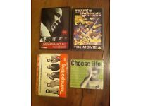 random DVDs ali transformers trainspotting 48 hours the chase ect