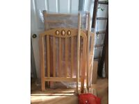 Mamas and papas wooden cot. Great condition.