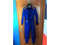 OMP Entry level karting suit. 140 cm. As new. £50 ono. collection eskbank or Haddington