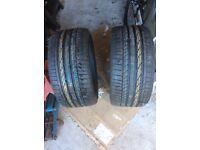 New. 2 x Bridgestone Potenza RFT 255 30 19. £200
