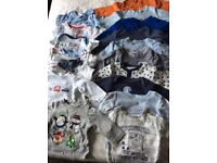 0-3m baby boy bundle