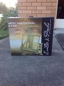 Artist desktop easel and case Cardiff South Lake Macquarie Area Preview