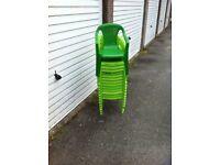 14 kids chairs