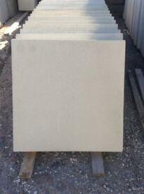 450x450x50mm 2 inch thick plain concrete paving slabs