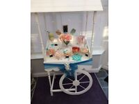 popcorn candy cart hire
