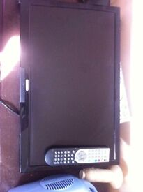 22inch Tv with built in dvd player