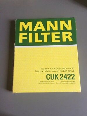 MANN CUK2422 Cabin Air Filter, New