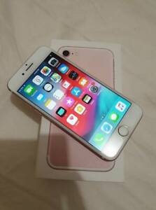 Apple iphone 7 Rose Gold AS NEW Condition