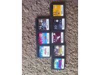 job lot of ds and 3ds games 19 in total 2 3ds and 17 ds with 9 boxed and 8 with no boxes