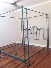 Custom made, king size 4 poster canopy bed frame Cronulla Sutherland Area Preview