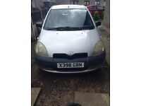 Toyota Yaris **Spares or Repair**