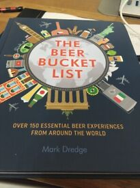 The Beer Bucket List Brand new unwanted Xmas present as already have similar. RRP £16.99