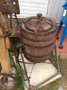 Large Barrel Butter Churn