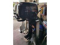 Suzuki DF4 Outboard engine 4stroke short shaft 4HP.