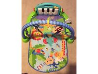 Fisher price Kick and Play Piano Mat green.