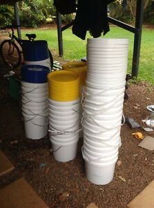 BUCKETS ..SEALABLE LIDS ..3 Sizes!!!! Geebung Brisbane North East Preview
