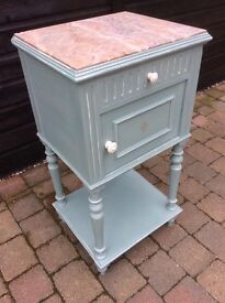 French Bedside table