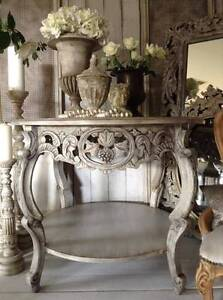 "SOLD P P/U... ""The Devil Wears Prada!!""  ROUND Vintage Table... Butler Wanneroo Area Preview"