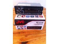 JVC digital car stereo MP3/USB/IPOD ports