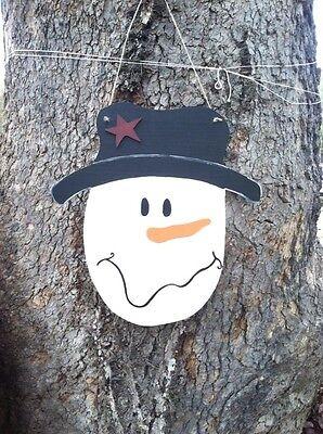 - Wooden Snowman Door Hanger