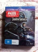 Jurassic World Blu-Ray Wyoming Gosford Area Preview