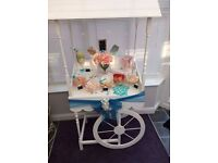 candy cart popcorn hire