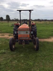 Zetor 4712 Tractor, slasher and implements Echuca Campaspe Area Preview