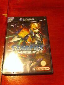STARFOX ASSAULT GAMECUBE