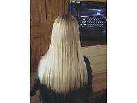 Hair Extensions Mobile Prebonds/Micro-bead/Microloops Fully Insured! 100% Human Hair Only