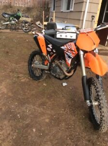 2008 ktm250sxf (completely rebuilt with proof)