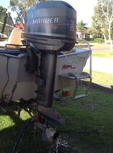 Mariner 30 HP Outboard North Lakes Pine Rivers Area Preview