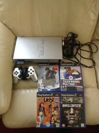 PlayStation 2 (Ps2) Console Bundle