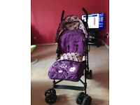 OBABY ZEAL STROLLER. MINT CONDITION