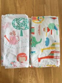 X2 Gro-to-bed bedding sets (used but in excellent condition)