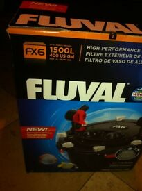 Brand new unopened Fluval FX6 Aquarium Filter