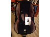 Maxi Cosi Priori isofix car seat.